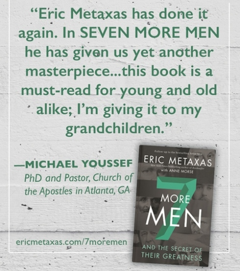 7 More Men - Eric Metaxas - Endorsement