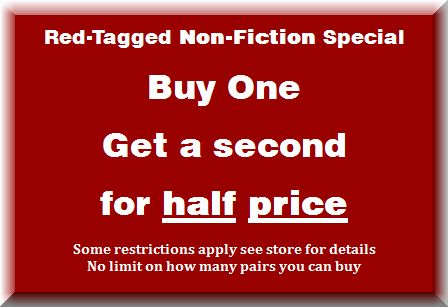 Buy 1 Get 1 for Half Price Non-Fiction