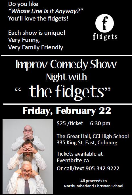 fidgets - improv comedy