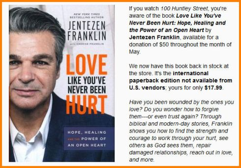 Jentezen Franklin Offer