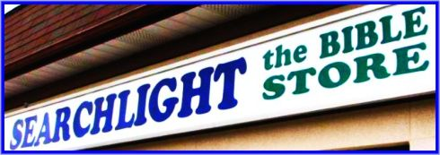 Store Sign very high contrast