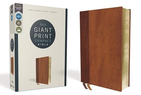 NIV Giant Print Compact Comfort Print